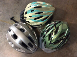 Adult and Kids Bike Helmets (All Still Available)