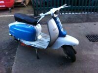 Lambretta scooter