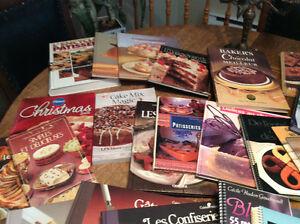 DESSERTS   livres de recettes VARIÉS    je  poste