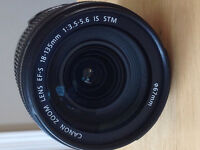 Canon EFS 18-135mm f/3.5 - 5.6 IS STM