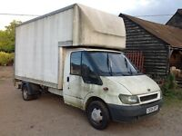 BREAKING FORD TRANSIT MK6 LUTON