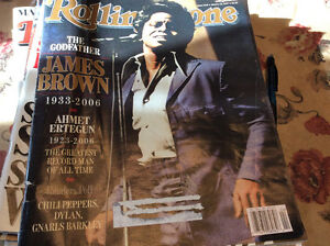 Rolling Stone Magazines from 2007