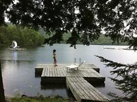 Maison de campagne meublée, nature et bord de l'eau, Laurentides
