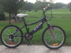Girls CCM 6 Speed - Practically Brand New.  Ages 7-11