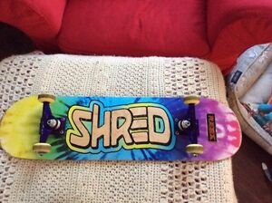 SHRED SKATEBOARD