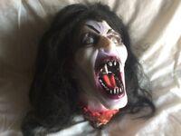 Halloween Vampire Skull prop