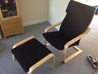 Ikea chair and stool £30