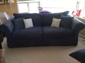 Micro fiber couch