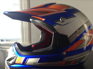Youth size Large Dirtbike helmet