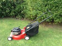 Petrol push lawnmower