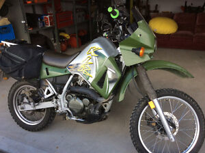 This KLR650 is mint!