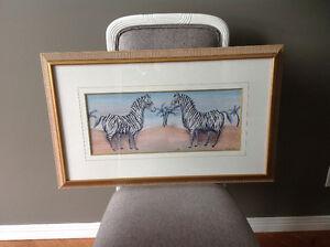 Solid wood Framed art print