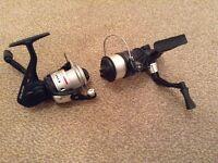 2 X PAIR of Okuma Electron Size 30 Spinning/River/Coarse/Float Fishing Reel