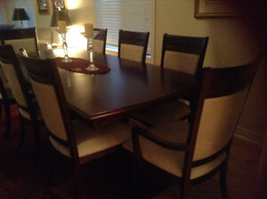 Beautiful Solid Cherrywood Dining Set
