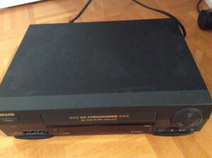 Sears 30360 VHS VCR Player & Recorder with Remote Control