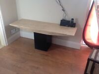 Dansk marble top coffee/tv table