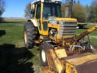 Ford 7710 Broom Tractor