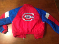 MANTEAU du CANADIENS de MONTREAL -enfant LARGE