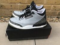 Air Jordan Retro 3 'Wolf Grey' - Size 9