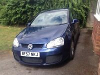 Golf 1.4 tsi sport 5 door 6 speed manual 76700 miles only metallic blue excellent condition.
