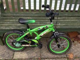 Green bike 16inch