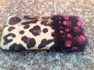 Wallet with Animal Print