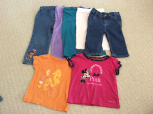 Size 2t 24 months girls summer clothing
