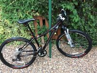Ladies Specialized Myka HT Expert Mountain Bike.