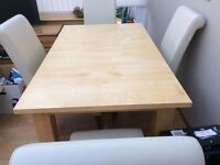 Extending. Dining table