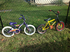 2 kids bikes ,boys and girls bikes only 20 dollars for both