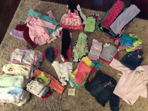 Girls' 12 month clothes!