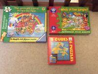 Animal Jigsaw Puzzle Toy Children's Game Bundle