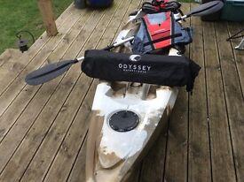 Single sit on kayak