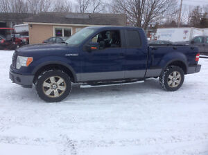 2009 Ford 150 FX4 4x4 Flair side Lic/inspected 390 kms $5000.00