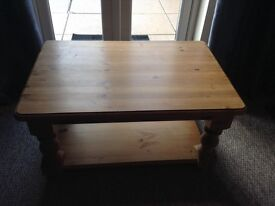 2x Solid Pine Coffee tables £25