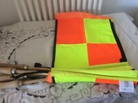 Football Referee Flag x4