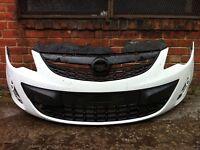 Vauxhall corsa d facelift 2011 2012 2013 2014 genuine front bumper for sale