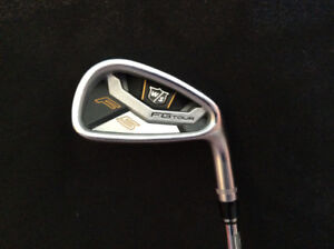 Ensemble de fers forgés #4au Gap wedge droitier stiff