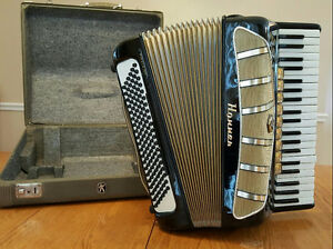 Hohner Pirola IVP Accordion with Hard Case
