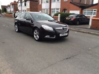Vauxhall Insignia SRI 2.0 CDTI Diesel 5dr hatchback manual 2011 black colour full history £2550
