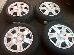 215/60/R16,Hankook I Pike Winter Tires With Steel Rims