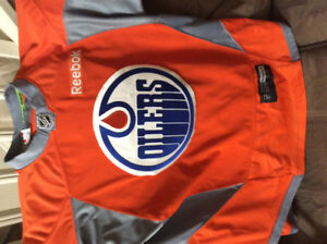 Edmonton Oiler Training Camp Jersey 2016/2017