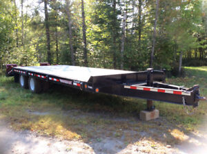2013 Towmaster 12 Ton Equipment Trailer