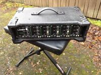 LANEY THEATRE 850 ,,5 channel PA AMP , with reverb