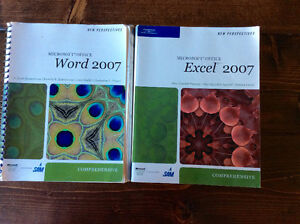 Microsoft Word and Excel 2007 how-to books