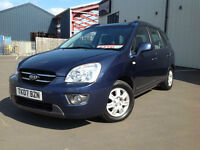 Kia Carens 2.0CRDi ( 7SEAT )GS DIESEL MPV GENUINE 78K FROM NEW 2007 CAR NEW MDL