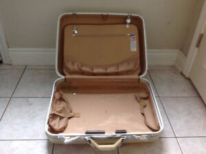 Antique suitcase; in perfect working condition.