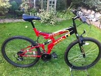 Full size sabre mountain bike