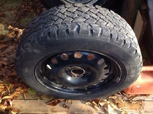 2010 Ford Focus tires and rims.4 tires and rims