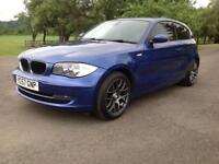 BMW 120 2.0TD DIESEL SE, 3 DOOR 57 REG, 1 YEARS MOT, OIL SERVICE , 91K FROM NEW